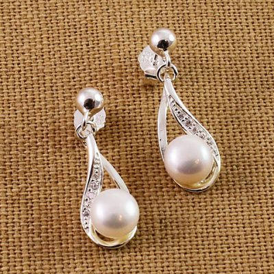 terling-Silver-Pearl-and-Crytal-earrings