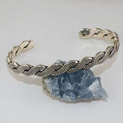 Sterling-Silver-Twist-Bangle