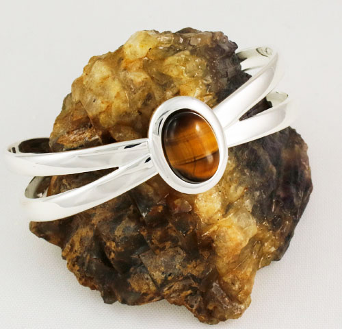 Tigers-Eye-Bow-Bangle