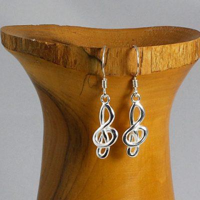 Treble-Clef Earrings