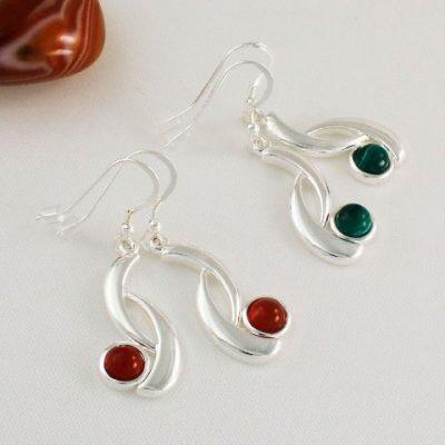 Wave-Earrings