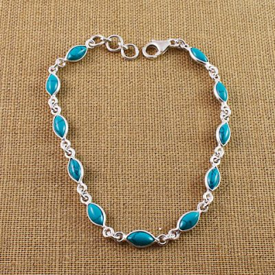 Turquoise-Small-Marquise-Bracelet