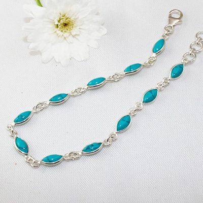 Dainty Turquoise Bracelet